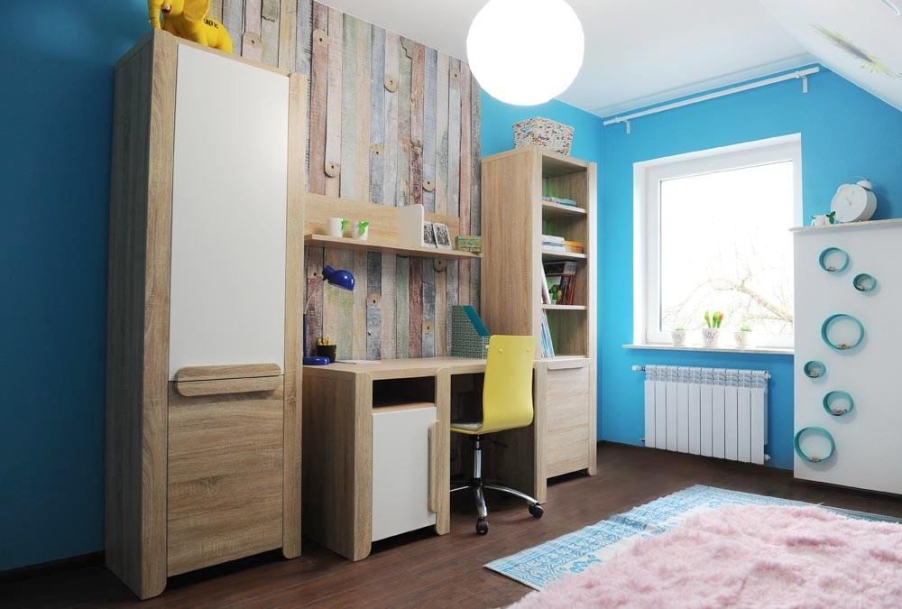 Jugendzimmer kinderzimmer komplett wohnwand lace ebay - Wohnwand bucherregal ...