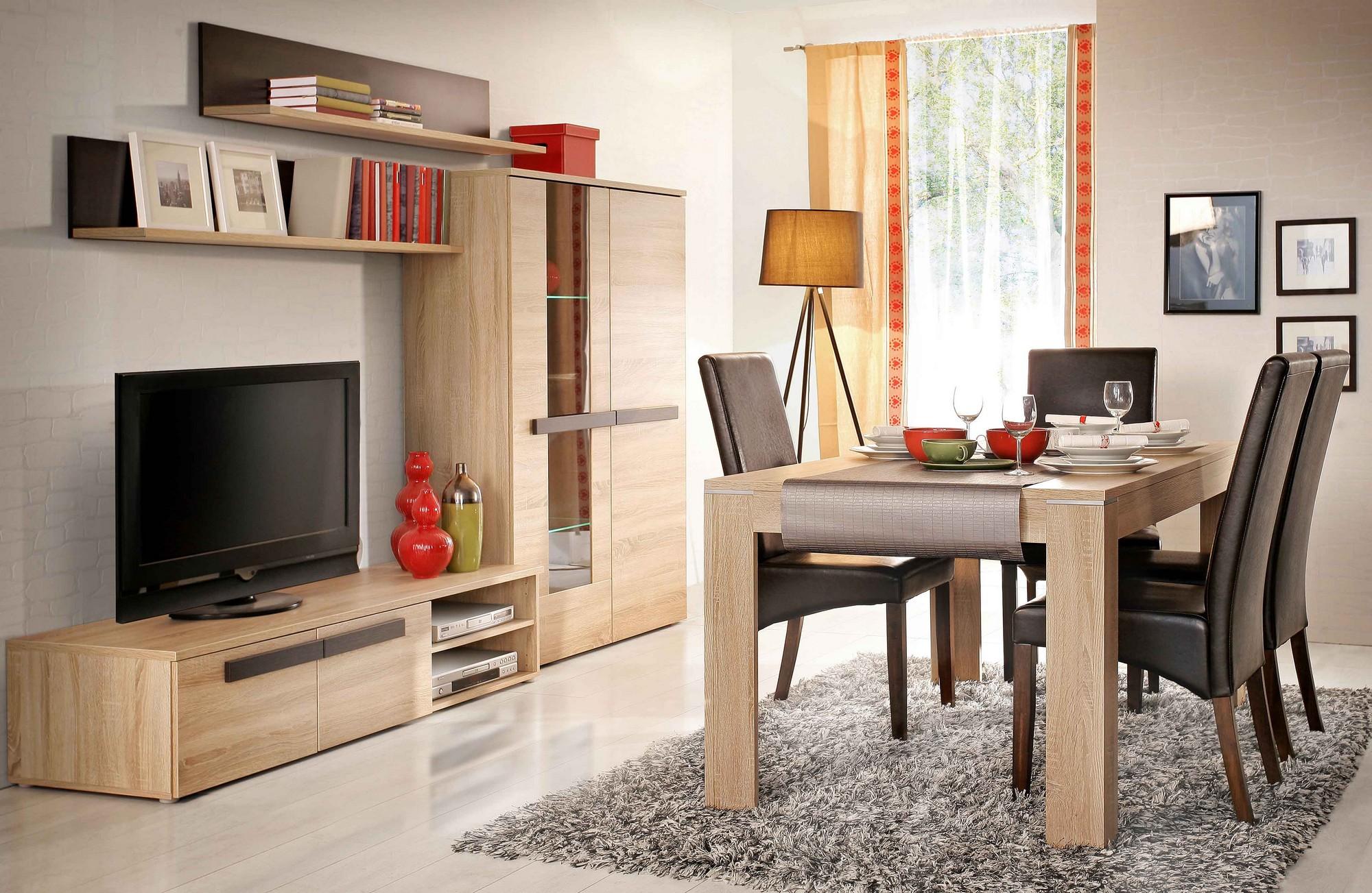 kleiderschrank schlafzimmerschrank latis mit spiegel ebay. Black Bedroom Furniture Sets. Home Design Ideas