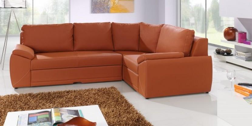 moebel24 pl naomi polsterecke echt leder ebay. Black Bedroom Furniture Sets. Home Design Ideas