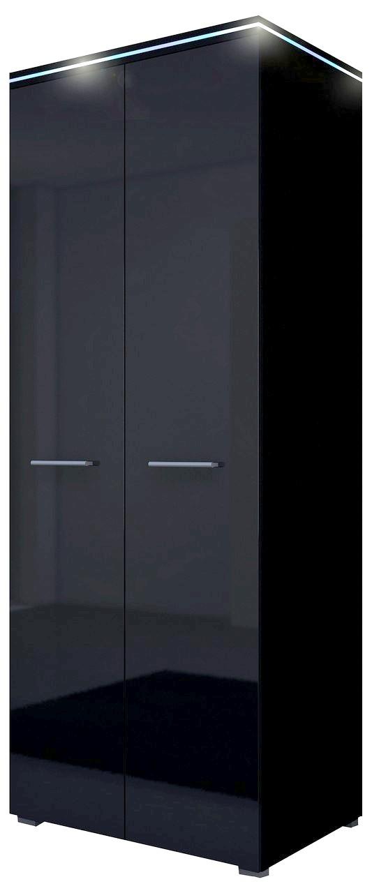 moebel24 pl kleiderschrank leverkusen mit rgb beleuchtung hochglanz ebay. Black Bedroom Furniture Sets. Home Design Ideas