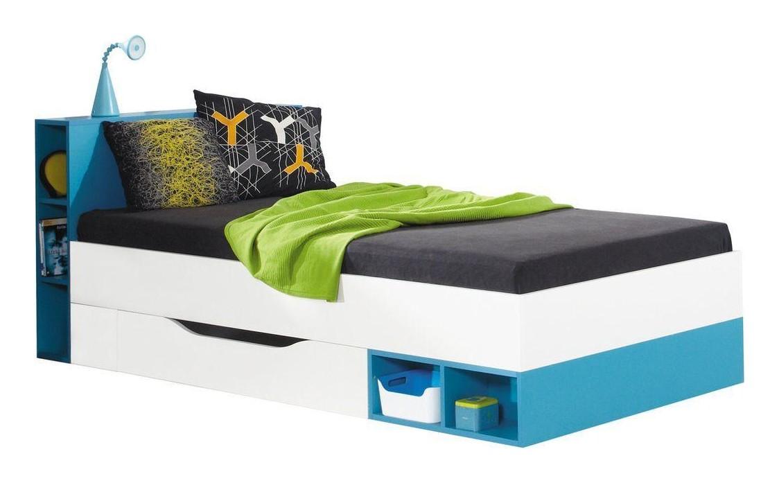 Bett mit schublade mobi kinderzimmer jugendzimmer bett 90 for Jugendzimmer jungen ohne bett